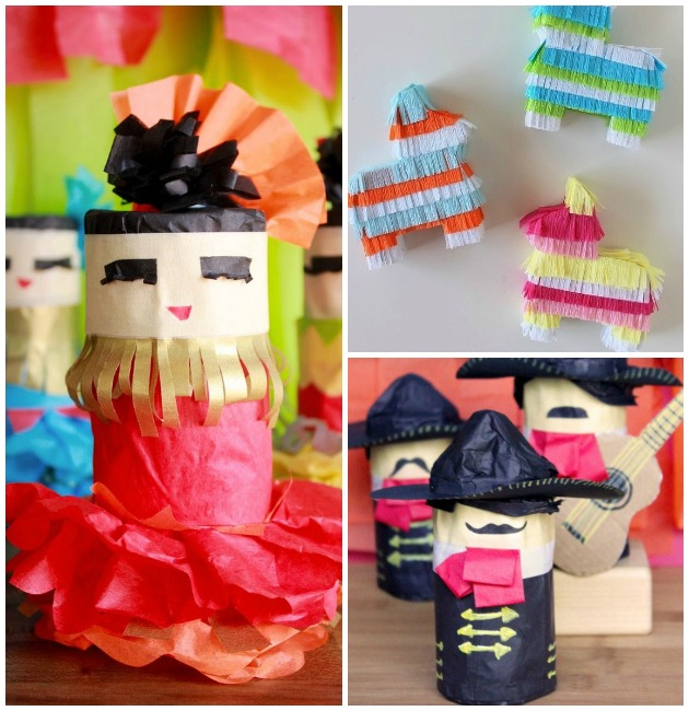 Cinco De Mayo Party for Pinata DIY via Paint + Pattern