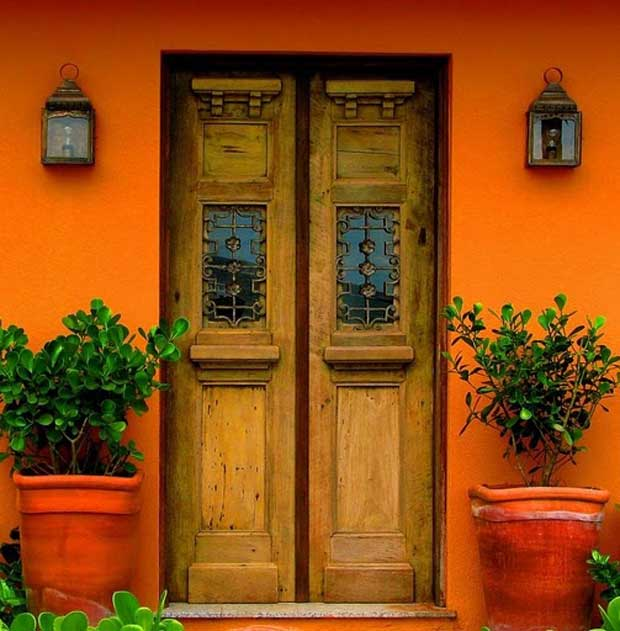 Doors-of-Latin-America-Brown-Door