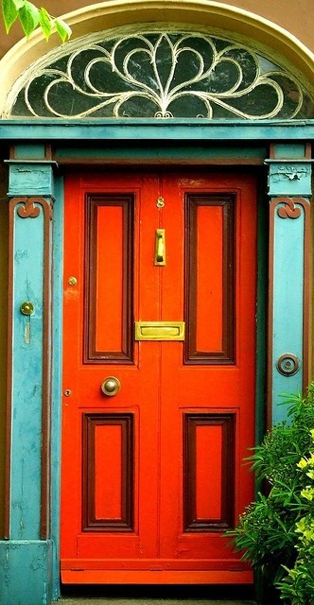 Doors of Latin America Orange Door