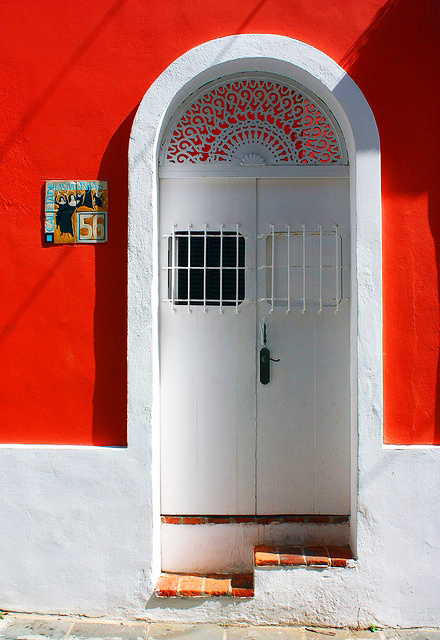 Doors of Latin America White Door Puerto Rico