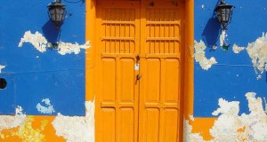 The Color Splashed Doors of Latin America