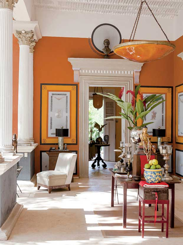 One of the prettiest Haciendas in Mexico via Paint + Pattern