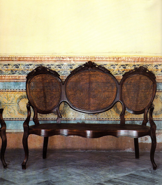 Faded frescoes form the 17th century Casa de la Obra Pia| Living in Cuba | Paint + Pattern