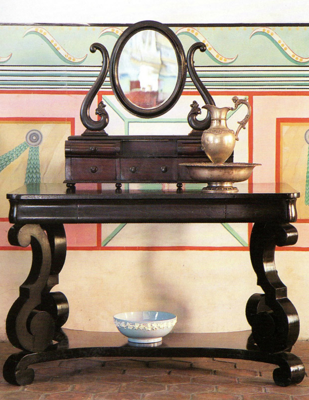 Intriguing wall ornamentation and furniture pieces adorn the Museum Casa de Diego Velazquez   Living in Cuba   Paint + Pattern