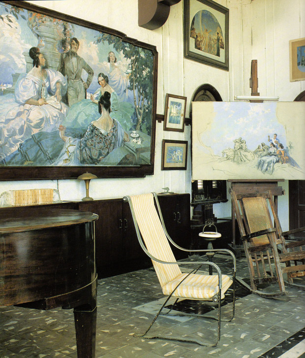 Painter Enrique Garcia Cabrera's studio in Cuba| Living in Cuba | Paint + Pattern