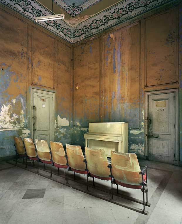 A Class Room in Havana photographed by Michael Eastman | Paint + Pattern