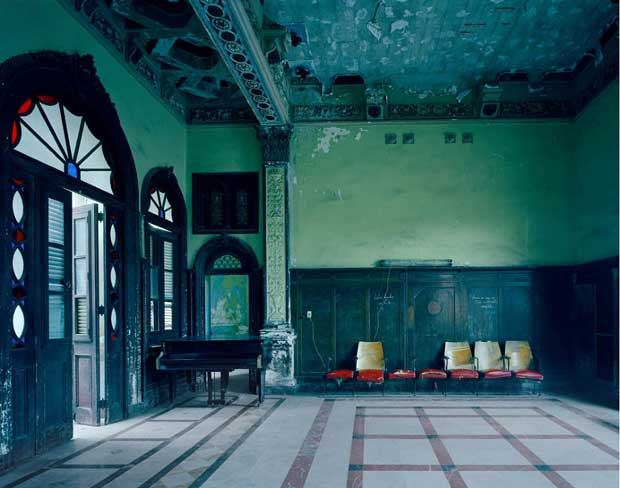 Music Room in Havana photographed by Michael Eastman | Paint + Pattern