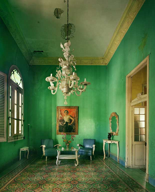 Portrait in Havana photographed by Michael Eastman | Paint + Pattern