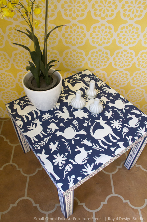 Otomi Ikea Hack Table DIY | Royal Design Studio