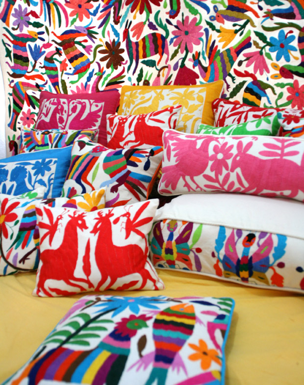 Beautiful Otomi Textiles | Paint + Pattern