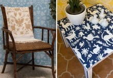 Stencil DIYs With the Haute and Trending Otomi Patterns