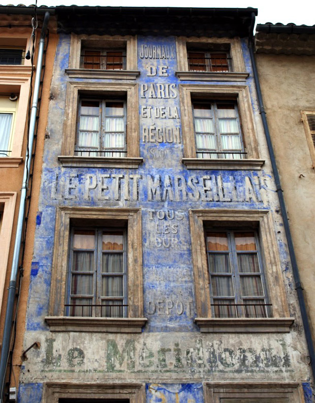 Ornamental Building Exterior in Carpentras | Patinas of France | Paint + Pattern