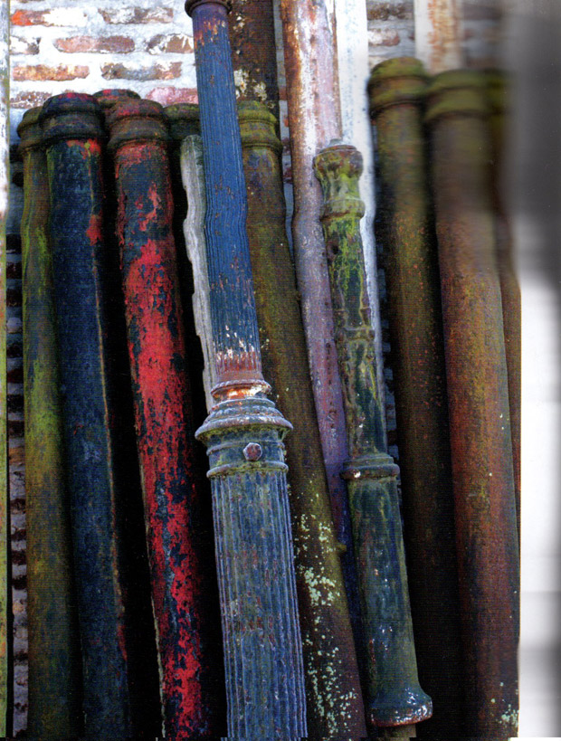 Hues of Erosions via The French Touch | Patinas of France | Paint + Pattern