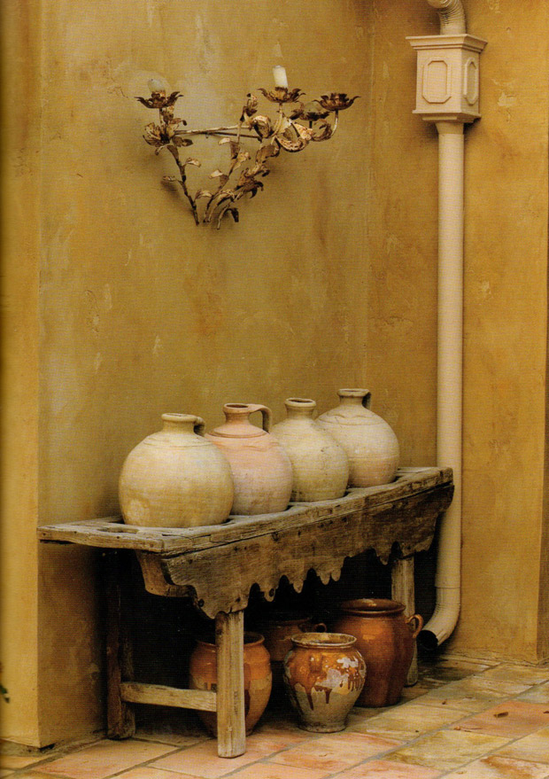 Glorious candle stand image from The French Touch | Patinas of France | Paint + Pattern