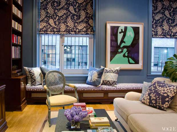Patricia Harrera's Apartment via Paint + Pattern