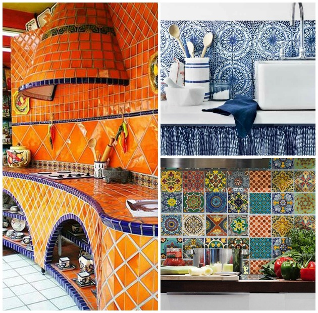Beautiful Talavera Tile Kitchens | Paint + Pattern