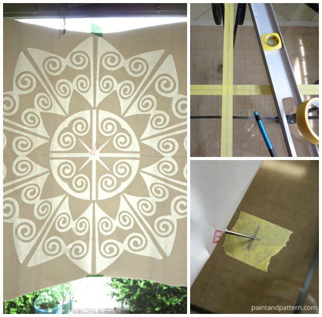 Finding the center for your Verre Eglomise project | Paint + Pattern