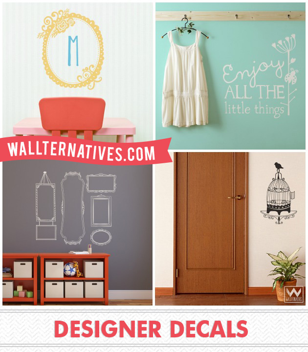Vinyl Decals by Wallternatives via Paint + Pattern