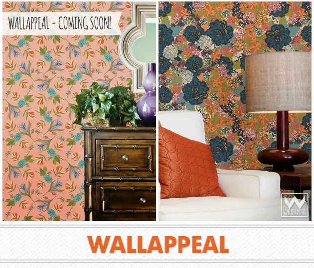 WallAppeal by Wallternatives via Paint + Pattern