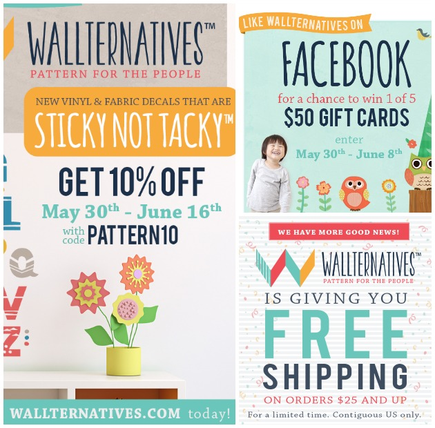 SALE on Wallternatives via Paint + Pattern