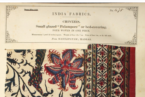 Samples of Indian chintzes, The Textile Manufacturers of India | Indienne Textiles | Paint + Pattern
