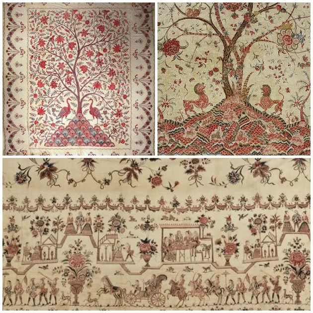 Antique Indienne Tree of Life | Paint + Pattern