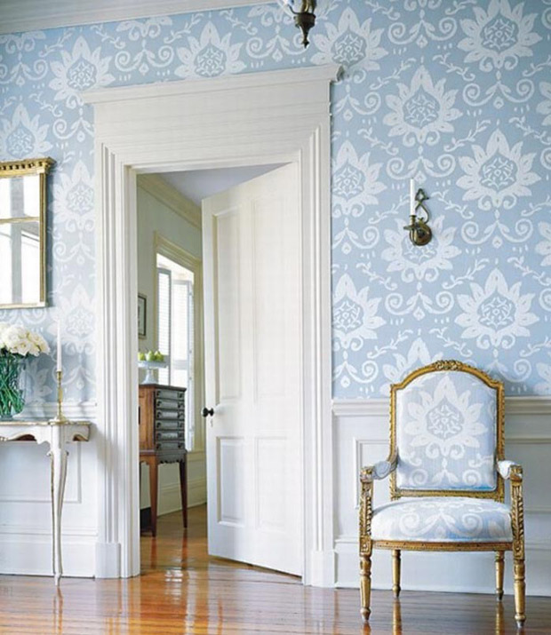 Damask Pattern by Thibaut via Paint + Pattern