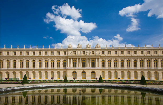 The Gilded Beauty of the Palace of Versailles via Paint + Pattern