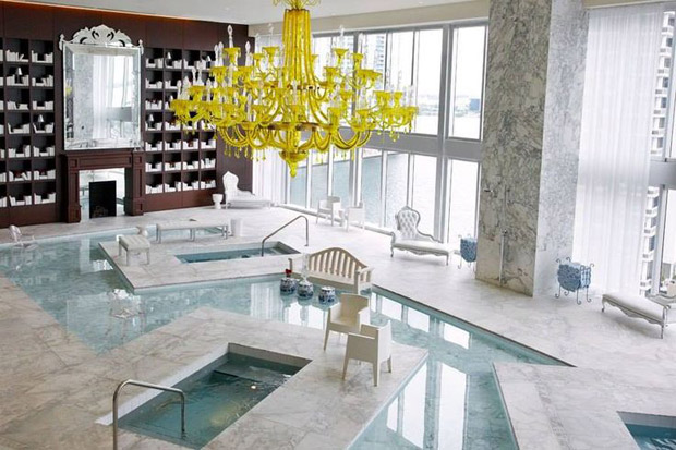 Viceroy Hotel in Miami by Philippe Starck via Paint + Pattern