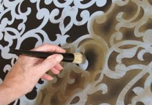 Basic Brush Stenciling with Royal Stencil Crèmes