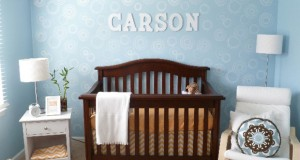 Whoa Baby! Sweet Nursery Decor Stenciling