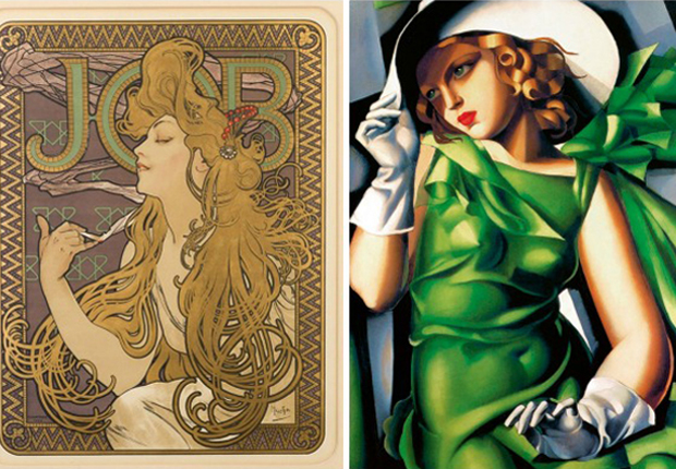Art Nouveau Vs Art Deco What S The Difference Paint