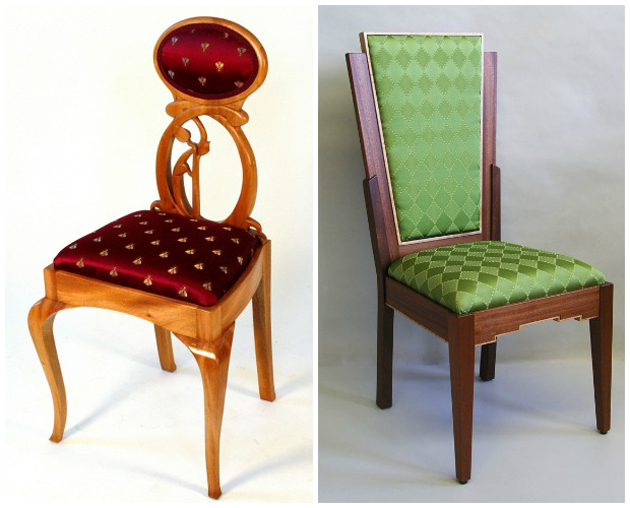 Art Nouveau vs Art Deco Styles in Furniture | Paint + Pattern