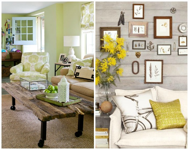 Country Cottage Living Room | Paint + Pattern