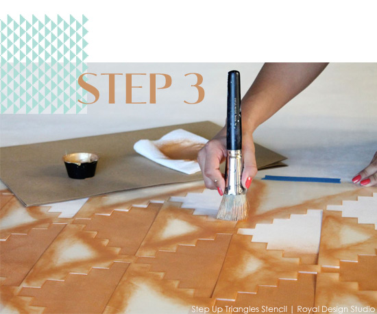 Stencil How-To: Wedding Photo Booth Backdrop Supplies | Paint + Pattern