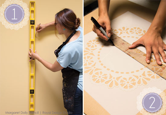 Lace-Doily-Stencil-how-to-step-1-2-measure