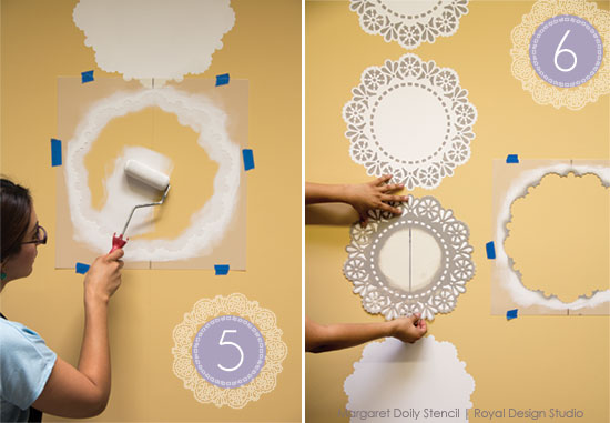 Lace-Doily-Stencil-how-to-step-5-6-pure-white-paint