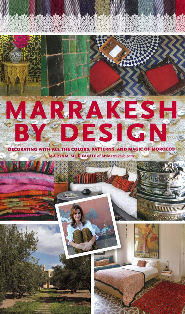 Marrakesh by Design book signing features Royal Design Studio Stencils