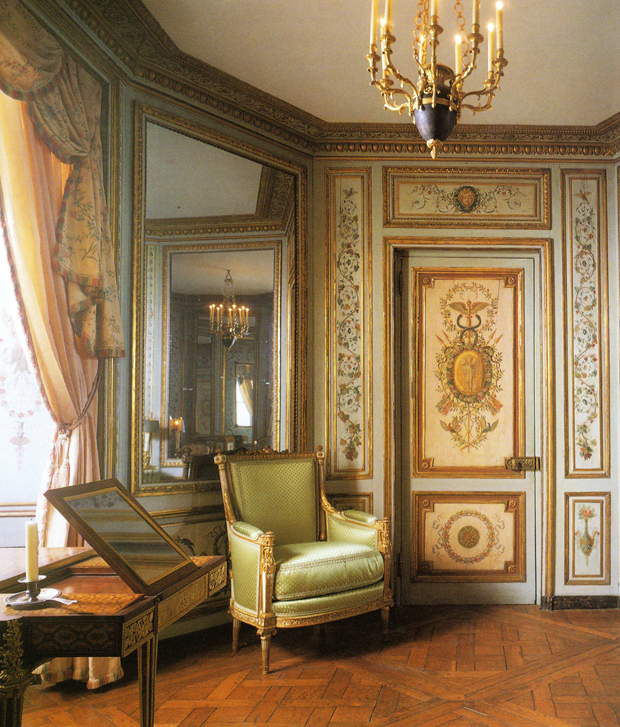 The Parisian Crillon Room at the Period rooms in the Metropolitan Museum of Art | Paint + Pattern