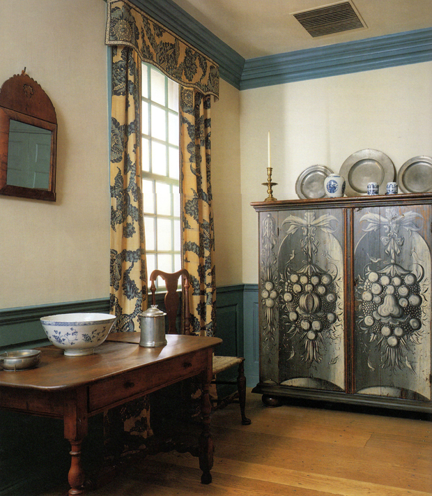The Hewlett Room at the Period Rooms in the Metropolitan Museum of Art | Paint + Pattern