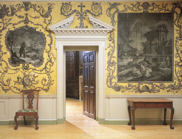 The Van Rensselaer Hall at the Period Rooms in the Metropolitan Museum of Art | Paint + Pattern
