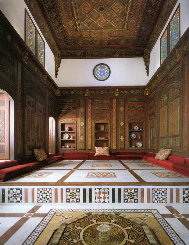 The Nur al-Din Room at the period rooms in the Metropolitan museum of art | Paint + Pattern