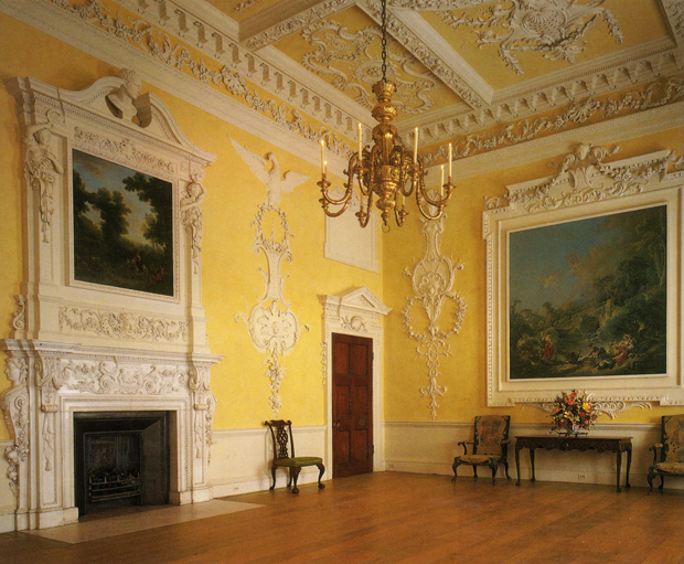 Kirtlington Park Room at the period rooms in the Metropolitan museum of art | Paint + Pattern