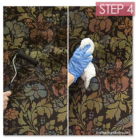 Stencil-creme-antiquing-step-4-toning-layer
