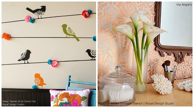 Stencils by Royal Design Studio | Paint + Pattern