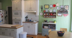 Hot Stencil Ideas for Summer Kitchens