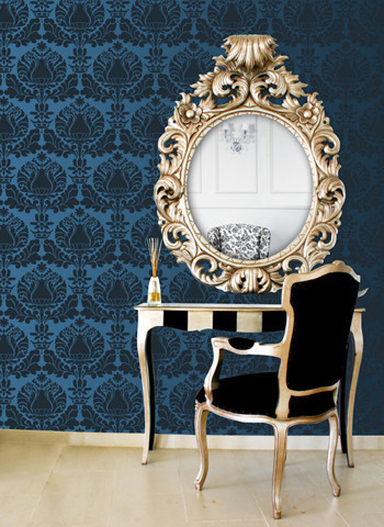 Corsini Damask Stencil | Royal Design Studio