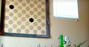 Crafty Framed Stencil Project