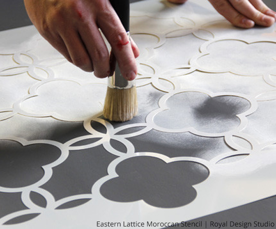 how-to-stencil-floorcloth-rug-wall-stencils