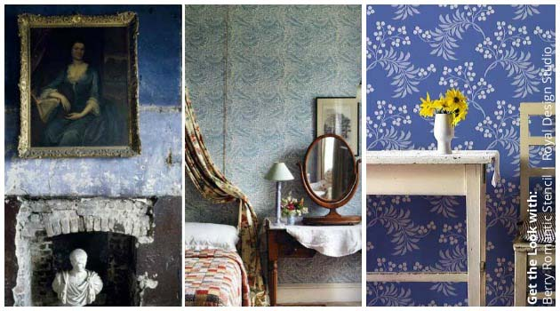 Get the look of Romantic Irish Homes with Stencils by Royal Design Studio | Paint + Pattern